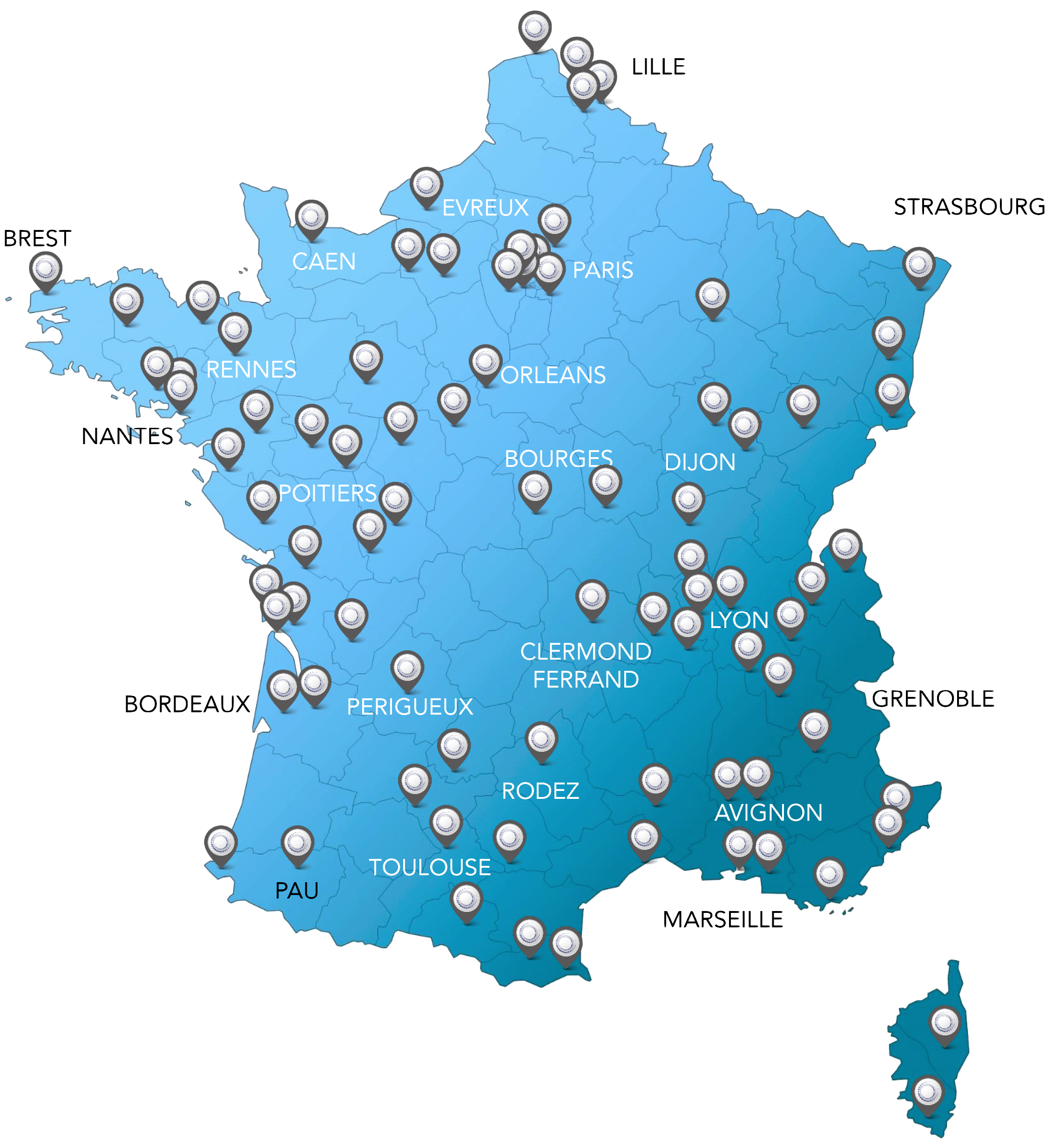 Références en France Déméninge