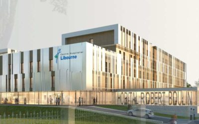 Déménagement du nouvel hôpital de Libourne (33)